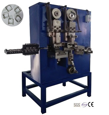 Automatic Mechanical Woven Wire Strapping Buckle Machine (GT-SB4)