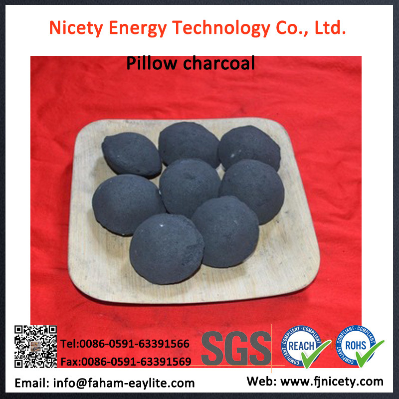 Instant Pillow Charcoal Briquette for BBQ Grilling Charcoal