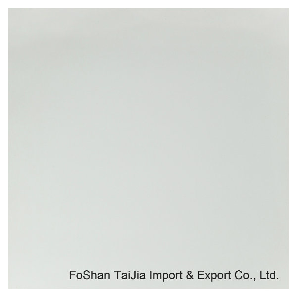 Buliding Material 600X600mm Supper White Porcelain Polished Tile (TJ6S01)