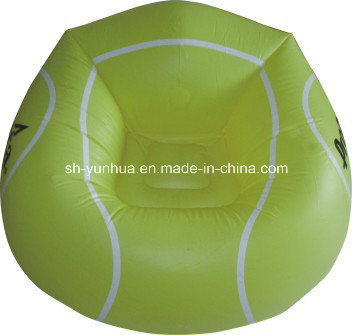 Inflatable Sport Ball Chair / Inflatable Single Sofa / Inflatable Fan-Shape Sofa