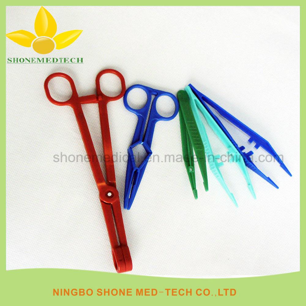 Disposable Medical Plastic Dental Forceps