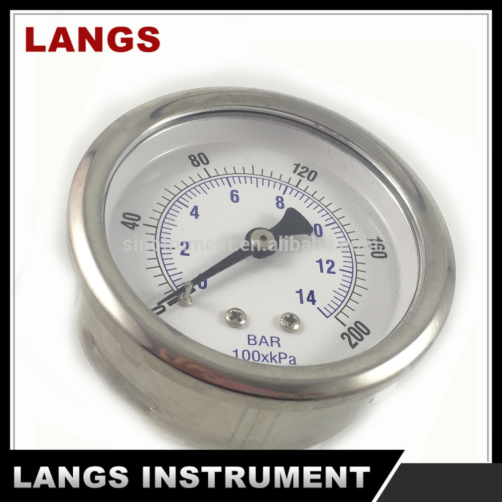 077 63 mm Stainless Steel Products Oil Pressure Gauge