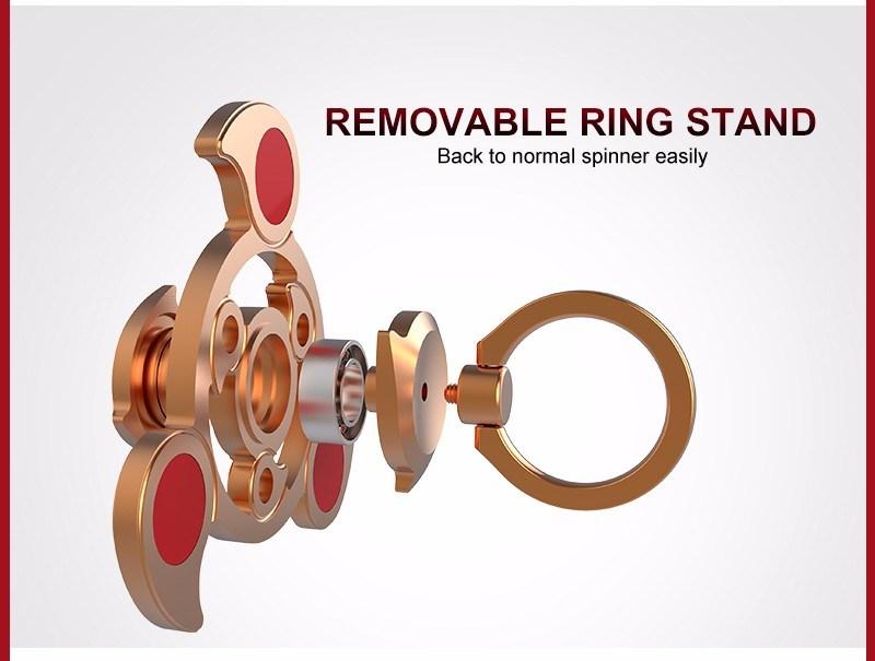 Newest Style Air Rotating Finger Fidget Hand Spinner