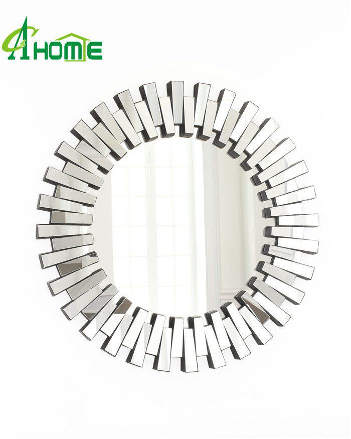 Wholesale Home Decor High Quality Art Wall Mirror Modern Round Mirror