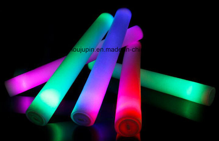 10 Hours OEM LED Sponge Glow Stick for Competition Concert