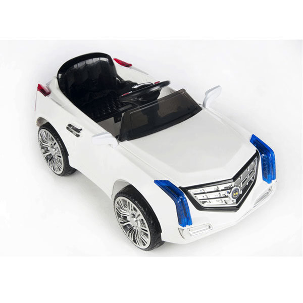 Electric Ride-on Children′s Toy Car- Remote Control White