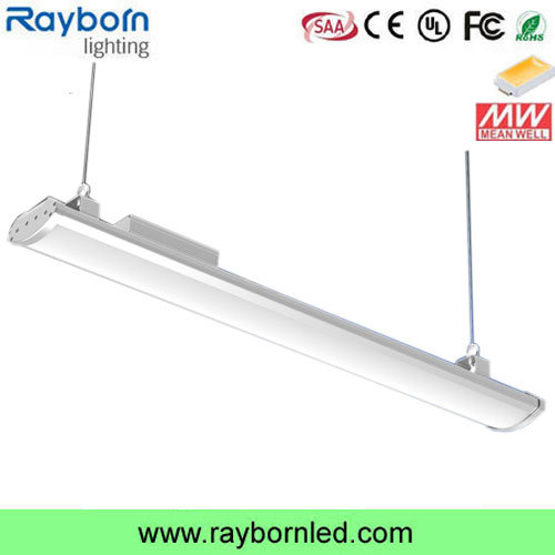 130lm/W Indoor Industrial Lighting Warehouse Low Bay LED Linear Light