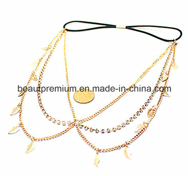 Popular Headbands with Leaf Pendant Fashion Hair Ornaments BPS0148