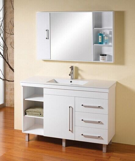 Woodgrain Waterproof Bathroom Vanity (ZHUV)