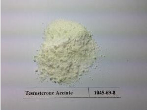 Healthy Muscle Growth Anabolic Steroid Hormone Powder Testosterone Acetate