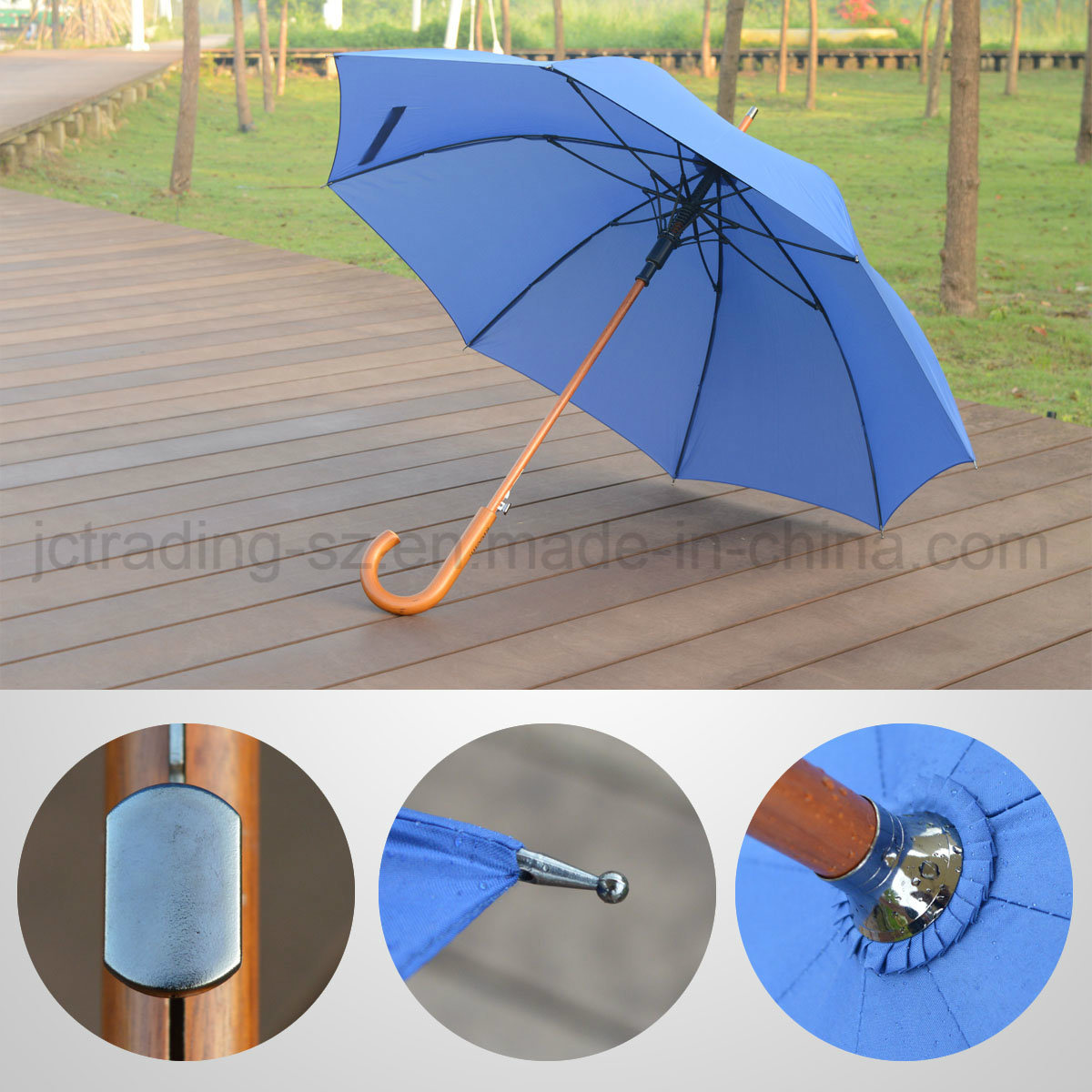 Automatic Straight Umbrella Wholesale High Quality Umbrella (JL-ARC101)