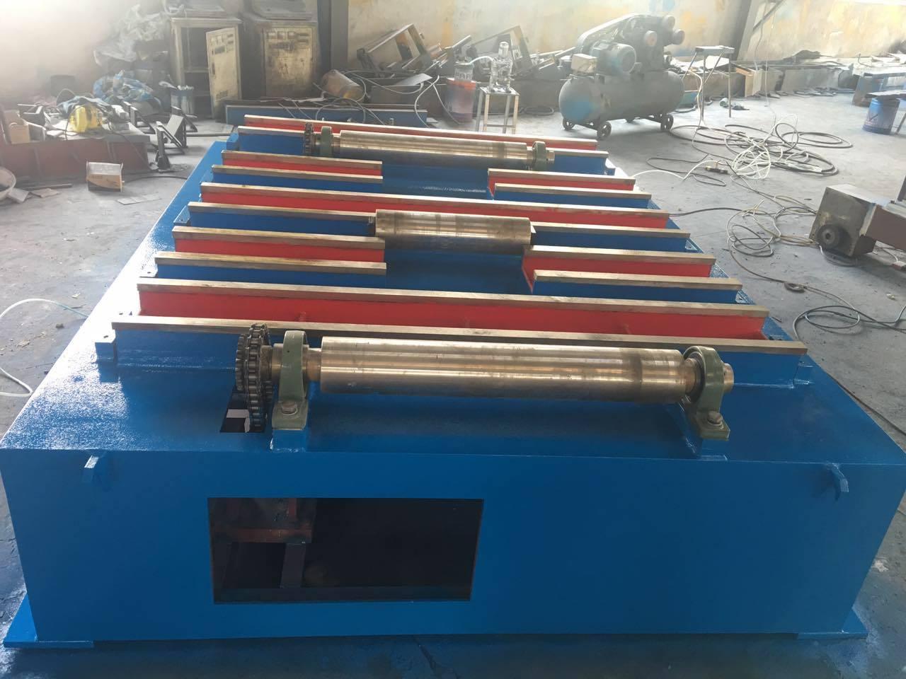 Section Steel Beam Frame Shot Blasting Machine