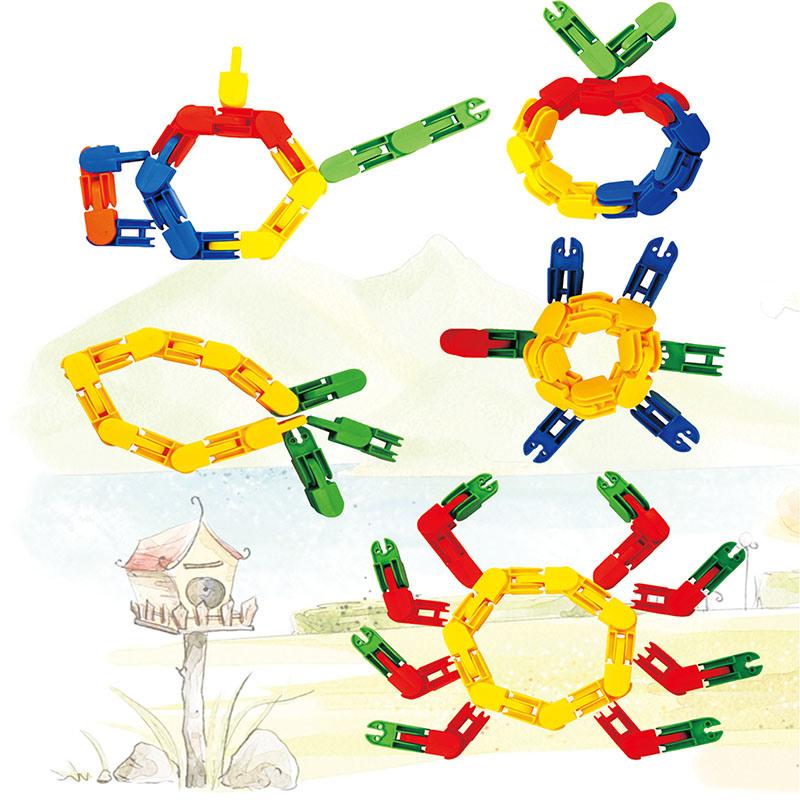 Children Soft Stitching Building Block Toy