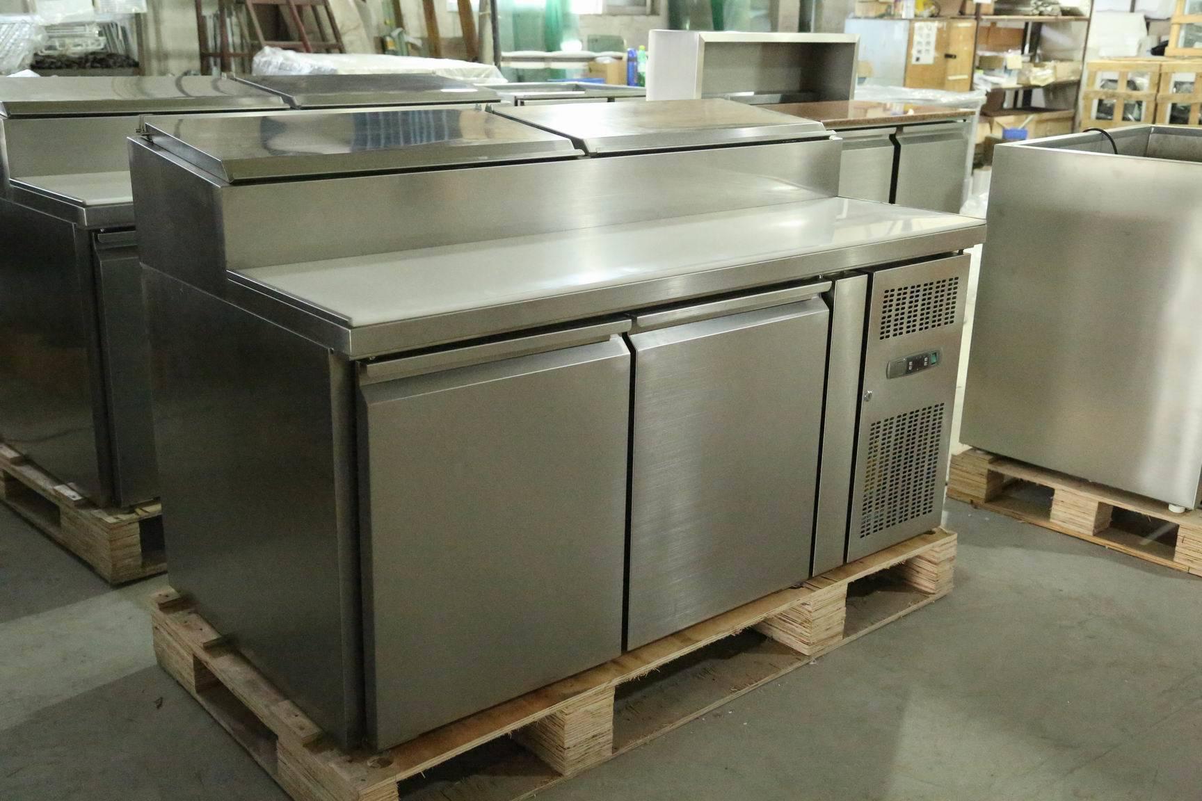 Stainless Steel Sandwich Counter Fridge Sh3000/800