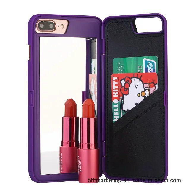 Mirror Cell Phone Case for iPhone Hard Back Cover
