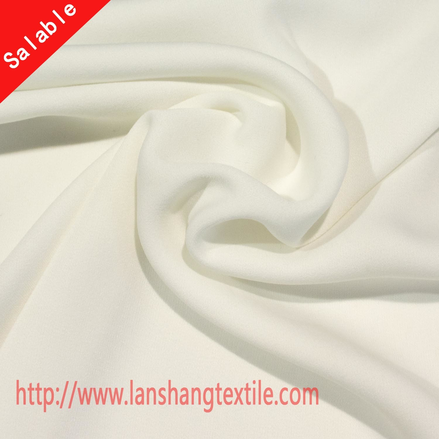 Polyester Fabric Chiffon Fabric Chemical Fabric Side Stretch Chiffon Fabric for Dress Skirt Garment Home Textile