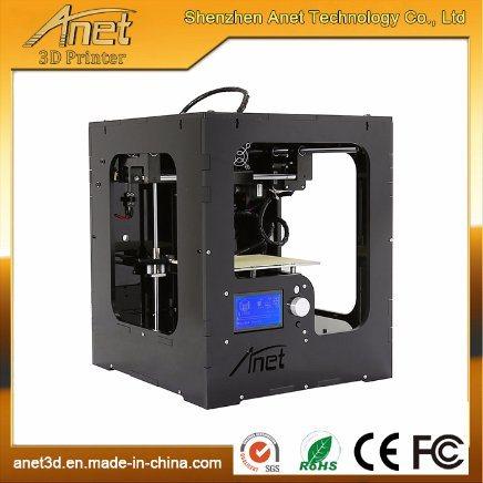 Anet DIY Portable 3D Printer Kit Desktop 3D Printer 3D Printer up! with Bas/PLA Filament