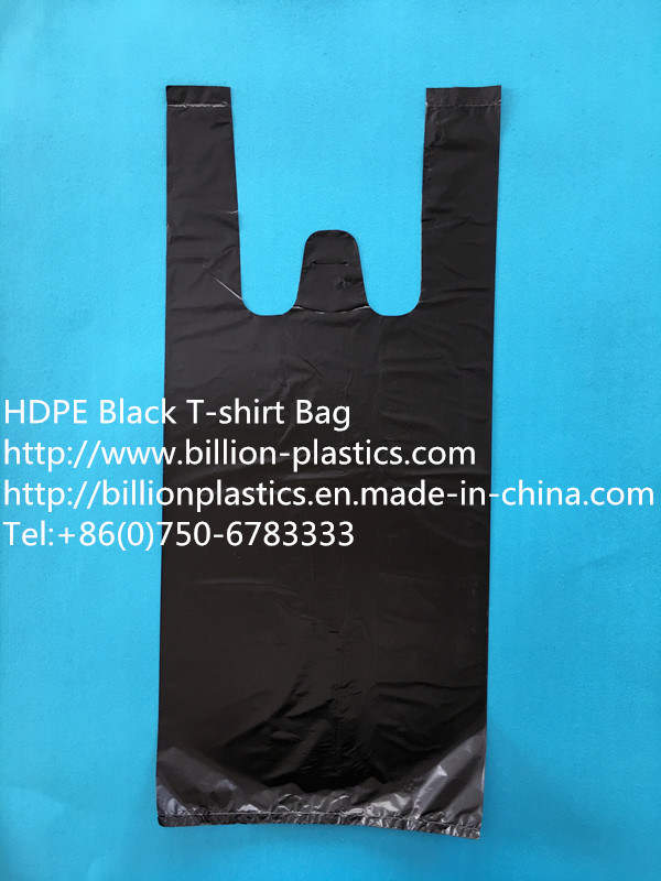 Durable Black Garbage Bag Trash Bag Rubbish Bag Trash Can Liner