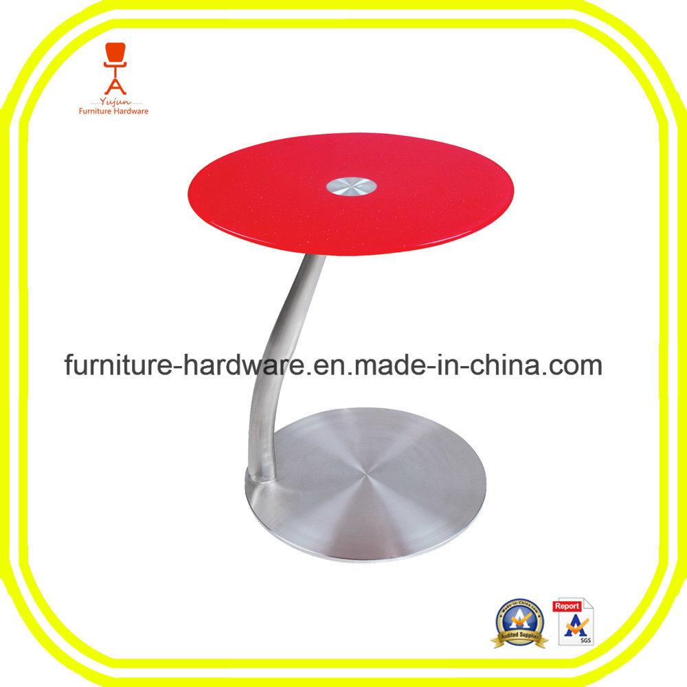 Furniture Hardware Parts Bar Height Table Base Leg Aluminum
