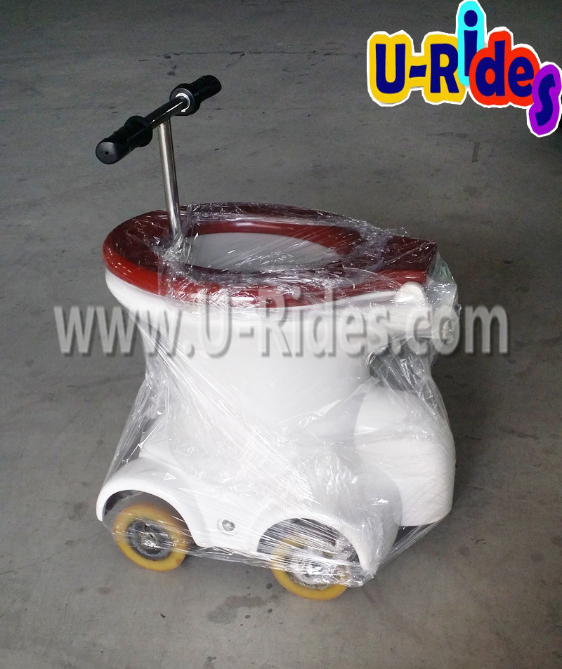 Racing Game Inflatable Toilet Car, Toilet Rides, Toilet Rides Car
