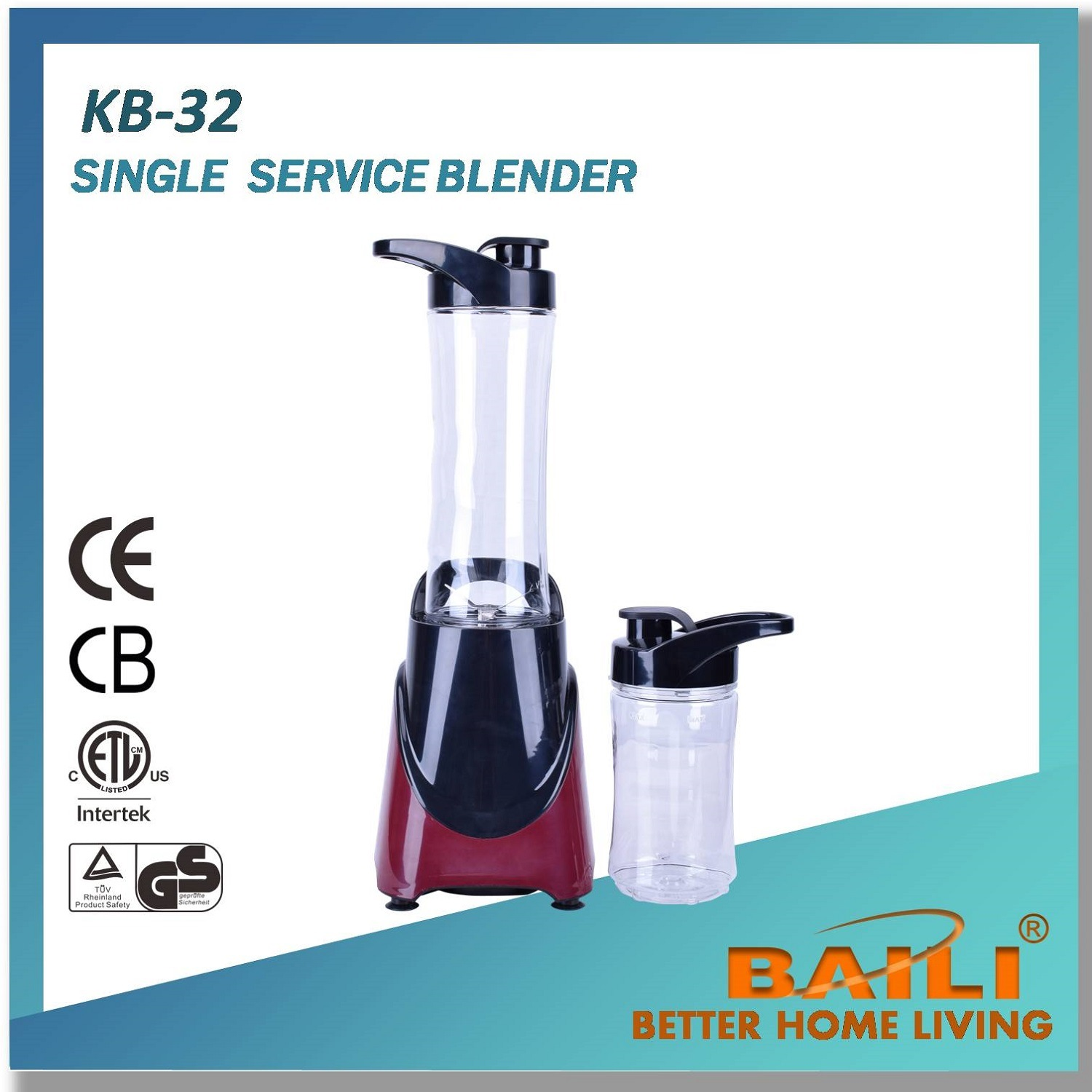 Single Serve Blender with One-Touch Blending