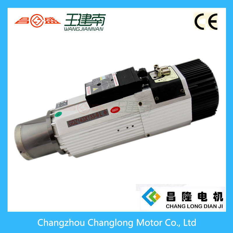 Atc Spindle Series 9kw Three-Phase Asynchronous AC Spindle Motor for Wood Carving