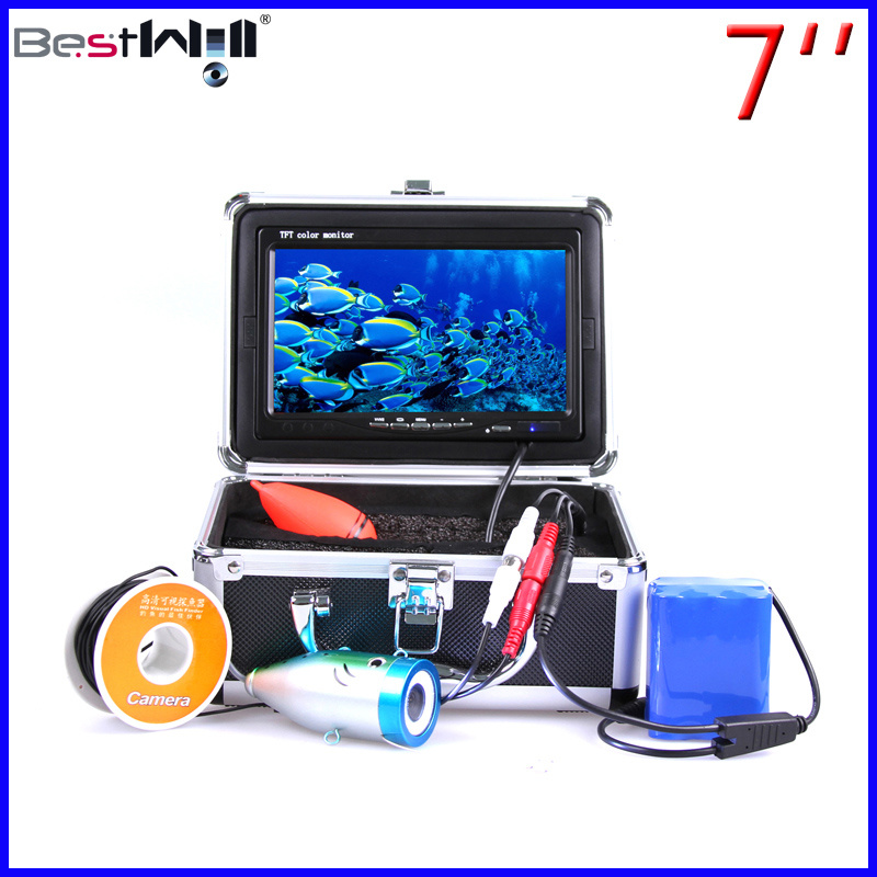 7′′ Digital Screen Fish Finder Underwater Video/Ice Fishing Camera 7L