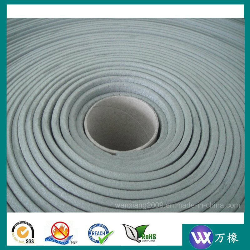 Flame-Retarded and Fire-Retardant XPE Sponge