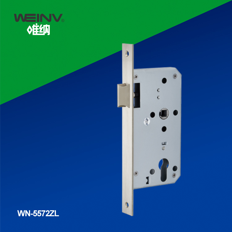 Stainless Steel Mortise Lock Set 5572zd