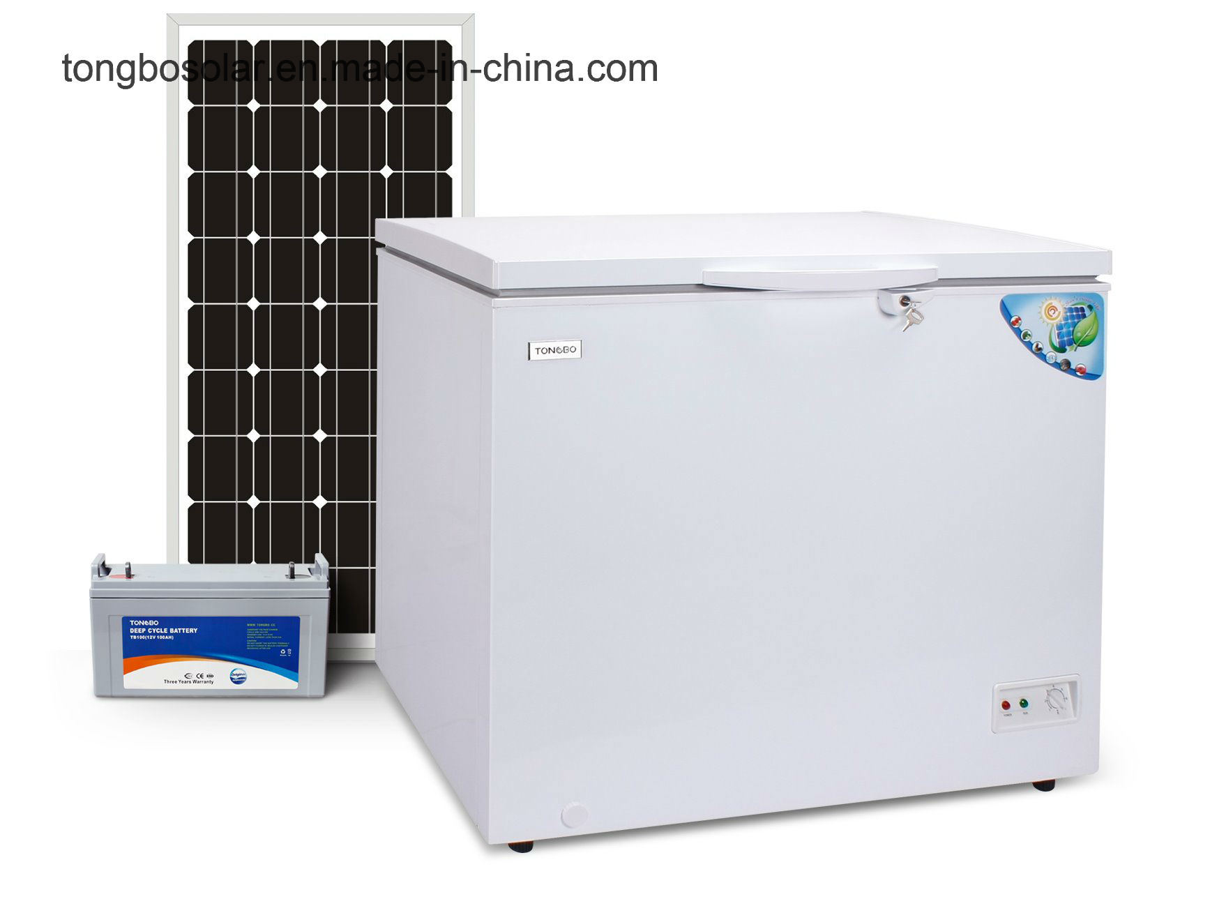off Grid 100% Solar Powered DC 12V 24V Chest Freezer 140L