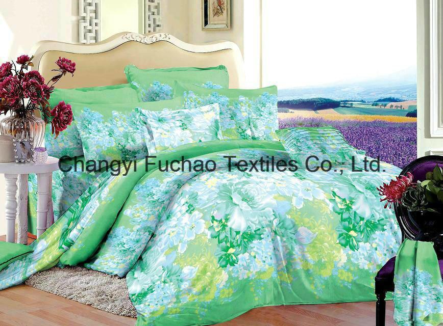 New Elegant Bedding Set Twin Size 4PC Duvet Cover Set Microfiber Super Soft Life