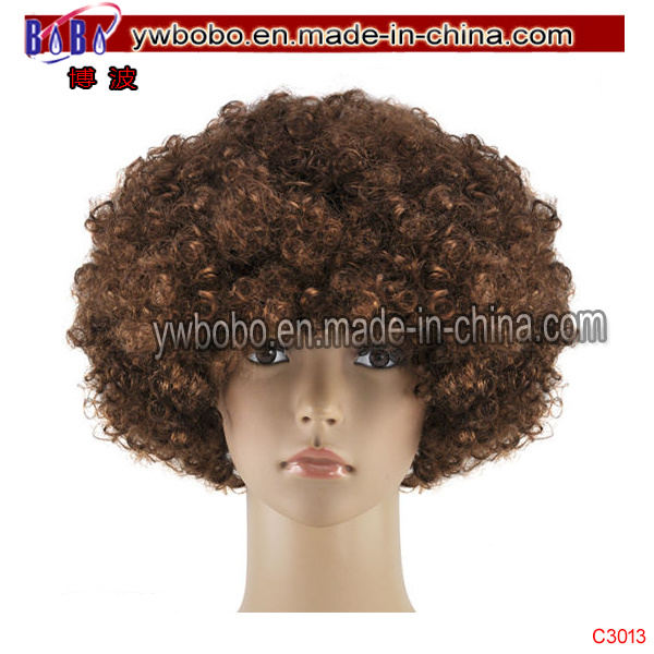 Halloween Costumes Hair Accessory Party Product Wedding Afro Wigs (C3013)