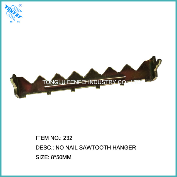 2inch Large No Nail Sawtooth Hanger 232