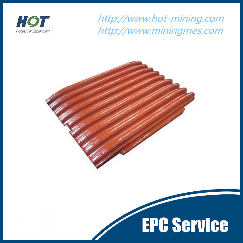 High Manganese Steel Casting Jaw Crusher Liner Plate Crusher Part
