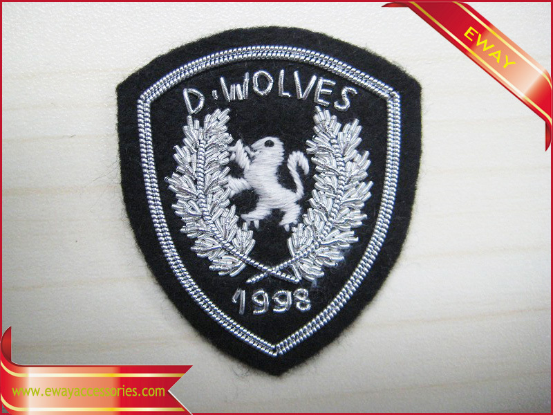 Police Embroidery Patch Garment Fabric Woven Patch