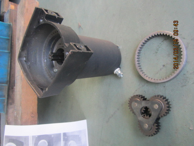 DC Motor for Electric Winches 12V/24V