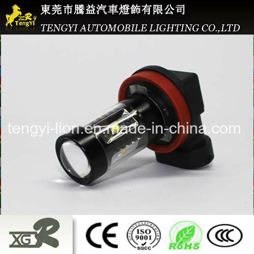 12V 30W LED Car Light LED Auto Fog Lamp Headlight with 1156/1157, T20, H1/H3/H4/H7/H8/H9/H10/H11/H16 Light Socket CREE Xbd Core