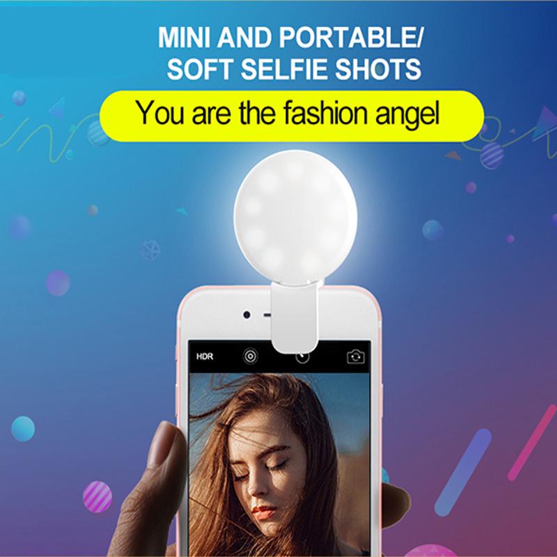 Innovated Selfie Ring Light LED Selfie Flash Light (RK17)