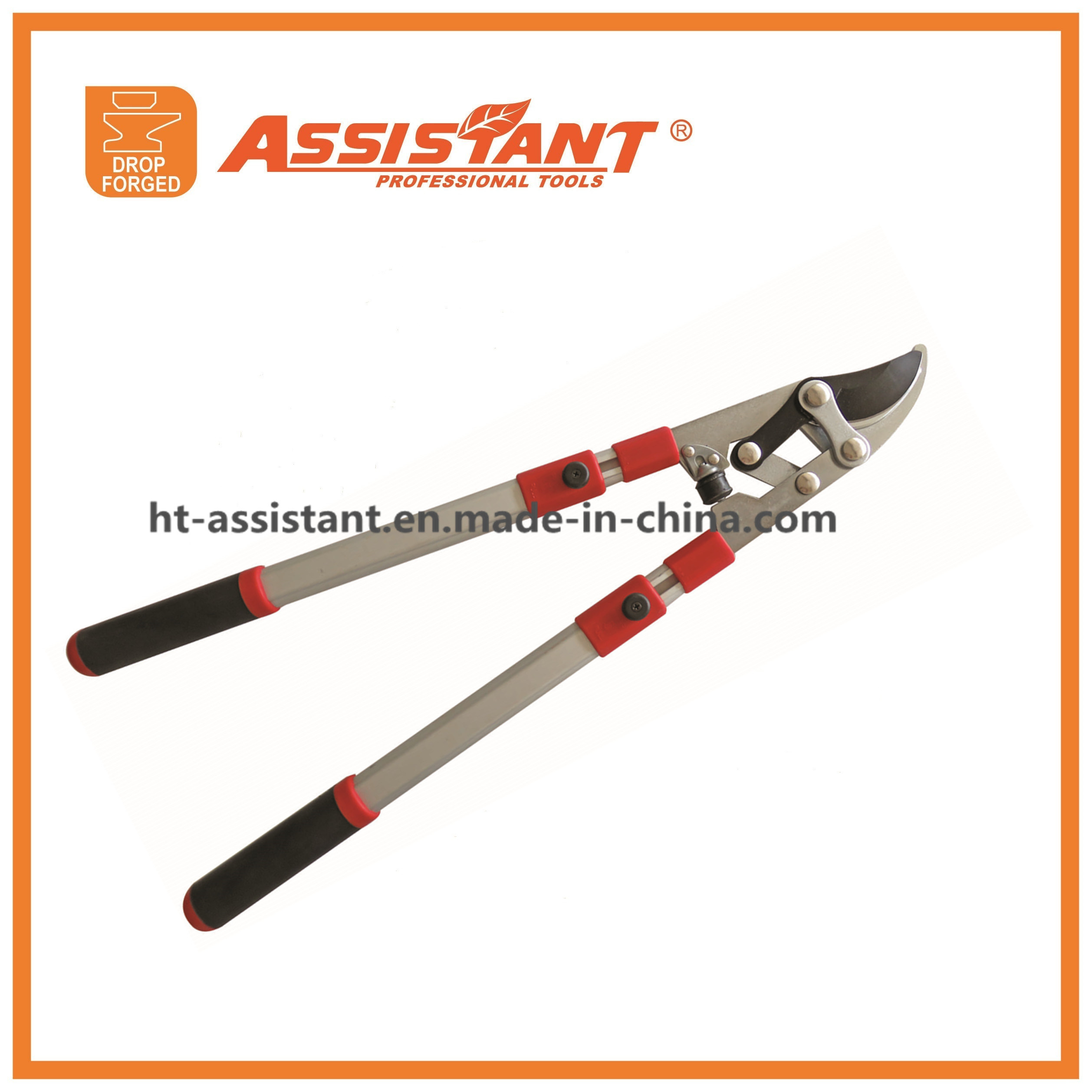 Garden Compound Lopping Shears Vineyard Pruning Anvil Loppers with Gear