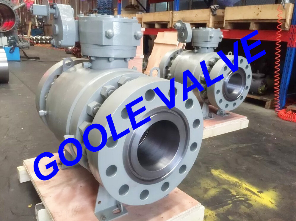 2500lb Three Pieces Forged Trunnion Ball Valve (GAQ347N)