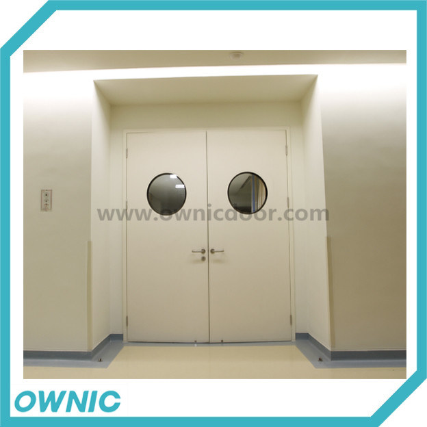 Manual Swing Door Double Open for Hospital Application