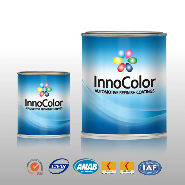 Car Paint with Advanced Color Mixing System