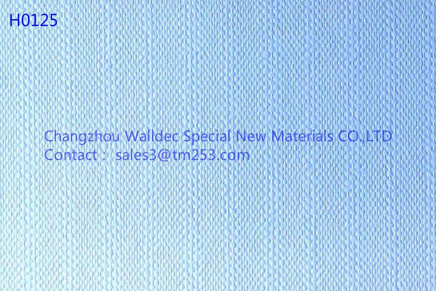 Fiber Glass Wallcovering Paper Decorative Materials