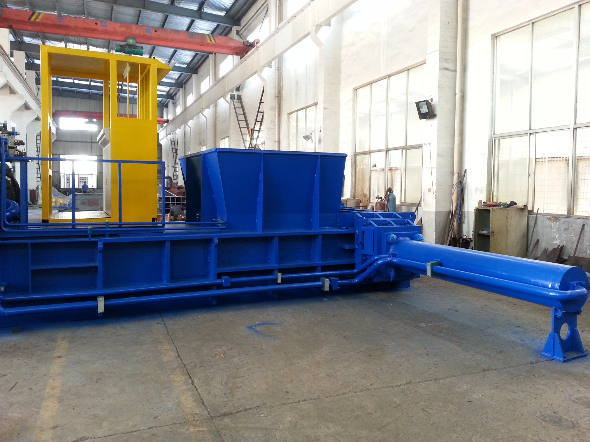 European Standard Ce Certificate Scrap Metal/Aluminum Can Baler for Sale