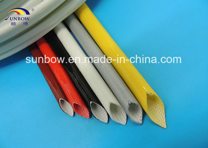 10.0kv Silicone Rubber Coated Fiberglass Sleeve
