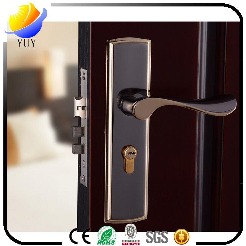 Simple Type Wood Door Interior Door Hardware Lock