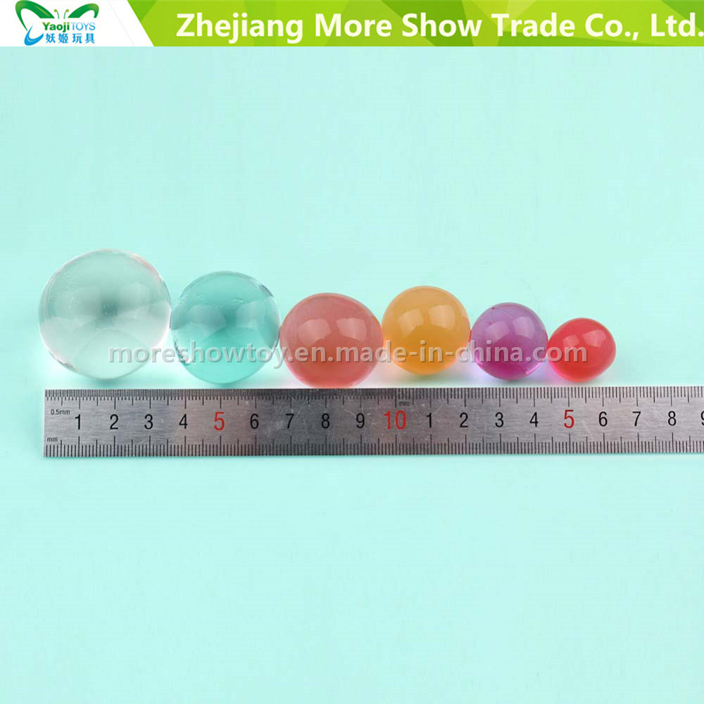 Crystal Soil Large Big Water Beads Gel Ball Mixed Colour Plant Wedding Vase