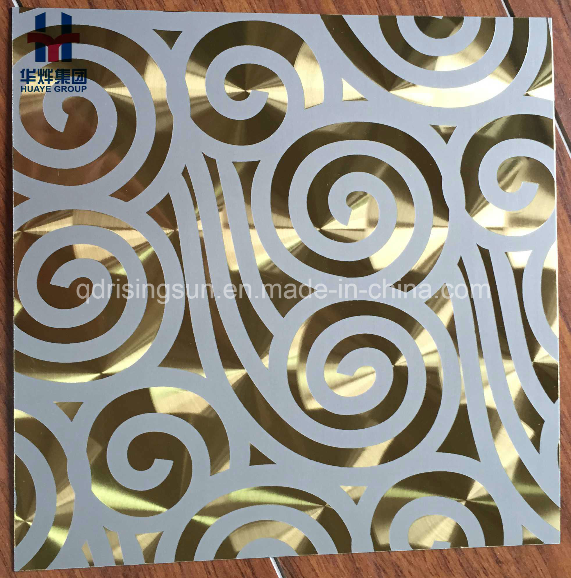 Stainless Steel Etching Design Sheet for Elevator Wall Door Building Decoration