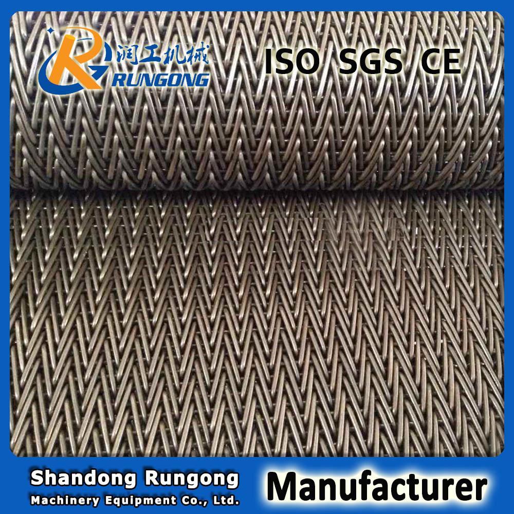 Stainless Steel Herringbone Conveyor Belt