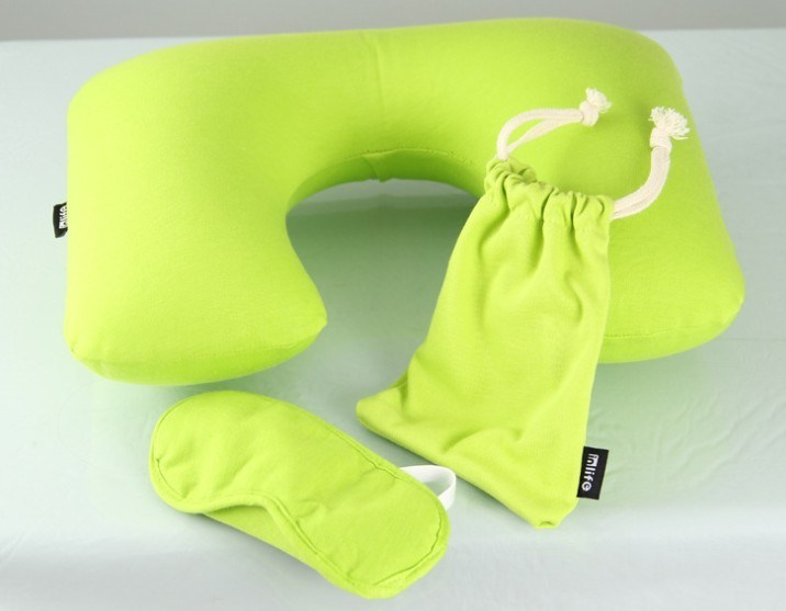 Good Quality China Comfortable Inflatable Travel Pillow Sets
